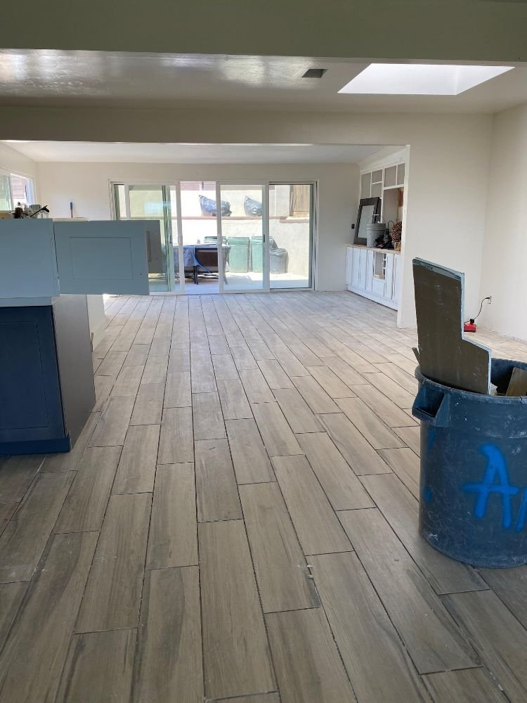 kitchen floor installation Carlsbad CA